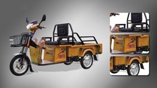 Open body type rickshaw tricycle
