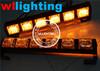 Amber 12V Police Vehicle LED Visor Strobe Flash Emergency Warning lights 12 volt LED dash warning lights