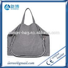 Custom Logo Grocery Cotton Market Shopper Bag