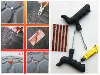 Tubeless Tire Repair Plug Kit Tire Patch Fix Tools Puncture Repair