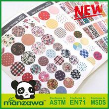 Manzawa home button sticker
