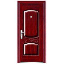 china steel door exterior/interior swing open style steel doors