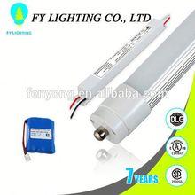 light sensor led tube 120lm/w emergency lighting power pack UL