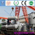 Gran beneficio de la máquina, 12 toneladas por día de residuos de plástico de combustible para el reciclaje de aceite de la máquina