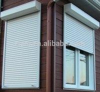 Roller shutter double layer window shutter for sale