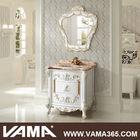 VAMA Floor Mounted Solid Wood Antique Bathroom Vanity Cabinets