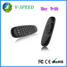 Vspeed Air Mouse T-10 + Wireless keyboard+3D Somatic handle+ Android Remote