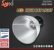 Innovative led industrial lighting, high power led bridgelux 200w high bay led fixtures