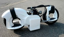 49cc hand start gas powered scooter loading 150kgs 2HP g wheel EPA approved