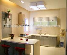 Home Indoor Non-toxic Modern Restaurant Acrylic Solid Corian Mini Kitchen Cabinet