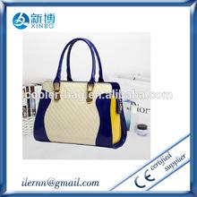 handicraft matching color hobo bag