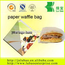 paper waffle bag packaging box and bag