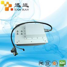 10M UHF RFID Integrated Reader with 9dbi mid-range antenna, circular polarized antenna