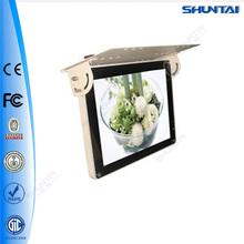 32 inch lcd screen advertising netowk wifi bus equipment