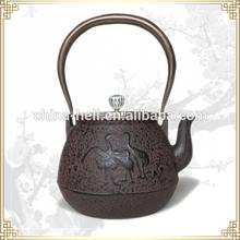 enamel cast iron tea kettle