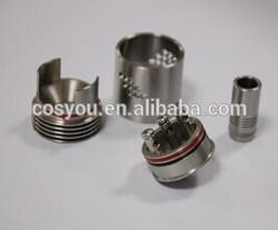 2014 newest design MOD vaporizer kayfun atomizer Mutation X Atomizer with 18 holes to adjust airflow