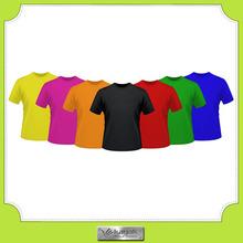 Custom ladies slilm fit cotton t-shirt in plus size design manufactures
