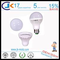 B22 E27 Aluminum base and PC cover led bulb light maker