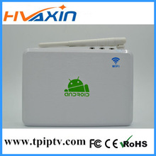 2013 best selling high quality android 4.2 hd media player arabic iptv smart tv box,Support google tv &DLNA