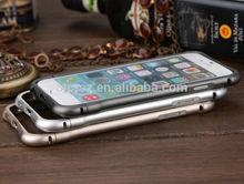 gold silver black 0.7mm metal aluminium case bumper for iPhone 6 4.7 inch iPhone6