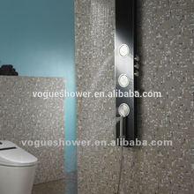 2014 ACS, cUPC, CE approval high quality Tempered glass shower panel / colonne de douche G8110