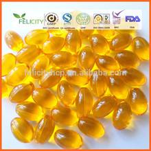 600mg GMP Approval seabuckthorn oil softgel
