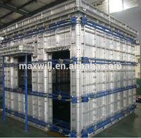 Aluminum modular formwork
