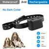 Reliable Animal No Bark Collar Shock Dog Collar Rechargeable Pet Collar Fof One Dog