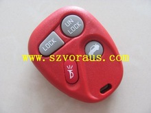 New Red Replacement Keyless Remote Key Fob Shell Case & Pad Fix for 15732805 (Fits: GMC)