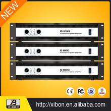 Sound Equipment powered pro digital amplifier system