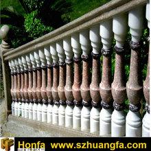 Rosso Levanto Marble balcony railing clamp