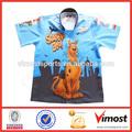 Atacado personalizado 100% poliester sublimada ciclismo motor/auto racing team camisas pólo/camisola desgaste
