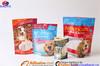 PET/PE custom printed resealable bag/reusable mylar plastic zip lock bags