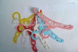 LGH004 cheap thin small plastic hangers