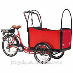 3 wheel front load van cargo tricycle