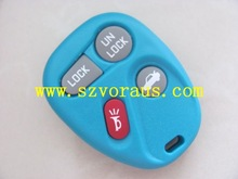 New light blue Replacement GM Keyless Remote Key Fob Shell Case & Pad Fix for 15732805 (Fits: GMC)