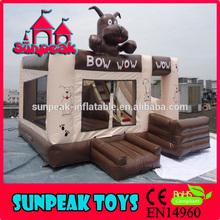 COM-292 Dog Theme Inflatable Castle