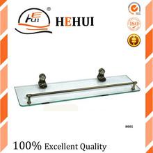 RC-8001 double glass shelf holder bathroom shelf bathroom fitting for shower accessory 022