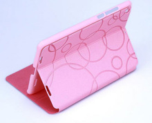 Hot Wallet Degree Silky Leather Case Cover Stand For Tablet