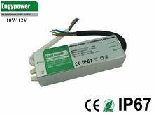 10w waterproof led strip power adapter