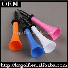 New Colorful Personalized Wholesale Cheap Rubber Plastic Bulk Golf Tees 100pcs/dot