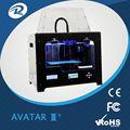 3d piezas de la impresora de escritorio de filamentos extrusora, profesional 3d de la máquina impresora, de plástico pa/3d de nylon de impresión prototipo
