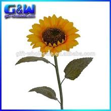 Artificial 100cm Length Single Sunflower with 25cm Large Sunflower Head Flower Arrangements