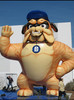 2014 Factory direct sale giant inflatable dog for promotion