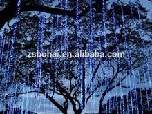 Fiber optic led string light,cheap decorative led curtain light,led moon light ball
