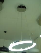 dinning room half round aluminum unique pendant lighting