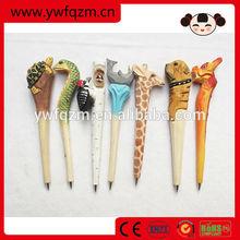 Hot Sale Artistic Design Handmade Wooden Ball Point Pen