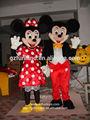 Alta- natal final de mickey e minnie mouse mascote adultos para venda