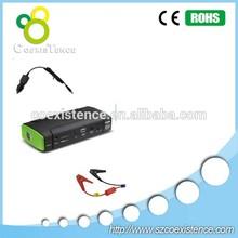 jumpstart the car jump starter cables portable auto battery jump starter