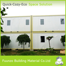 Two Storey Waterproof Recycled Prefabricated House Low Cost for Sale